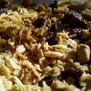 Mueslis, granolas y cereales dulces