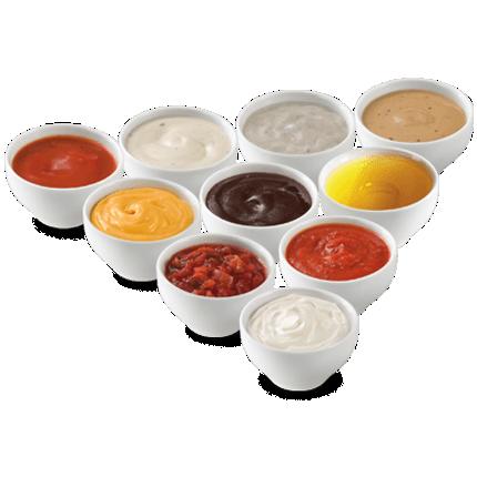 Salsas, cremas y natas