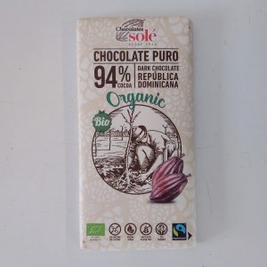 Tableta Chocolate negro al 94%