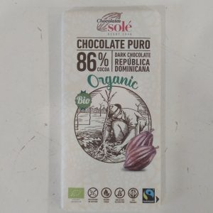 Tableta Chocolate puro al 86%
