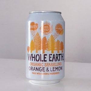 Refresco de Naranja y Limon sin Azucar