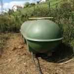 Depósito de 1500L de agua